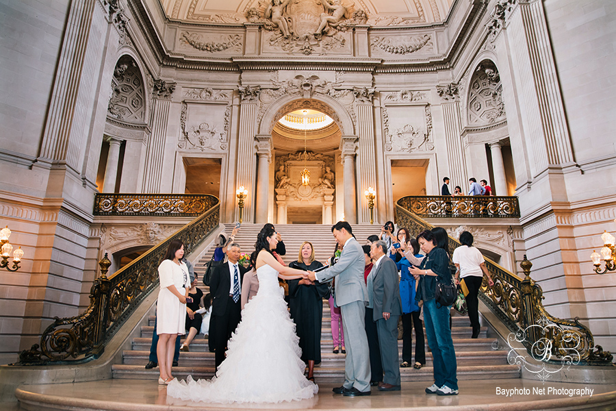 K V San Francisco City Hall Wedding Bayphoto Photography