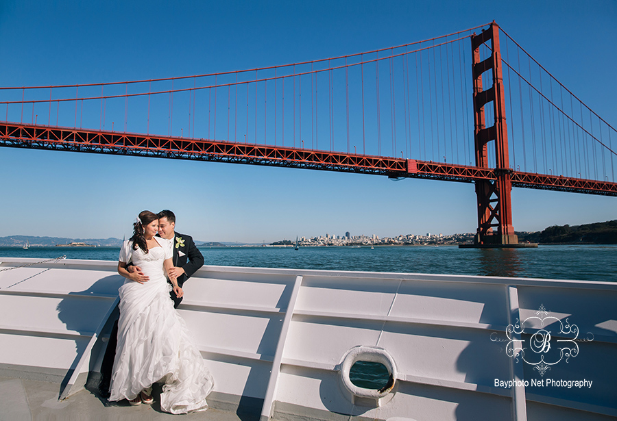 A M San Francisco Yacht Wedding