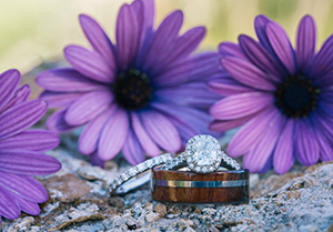 Wedding ring flower
